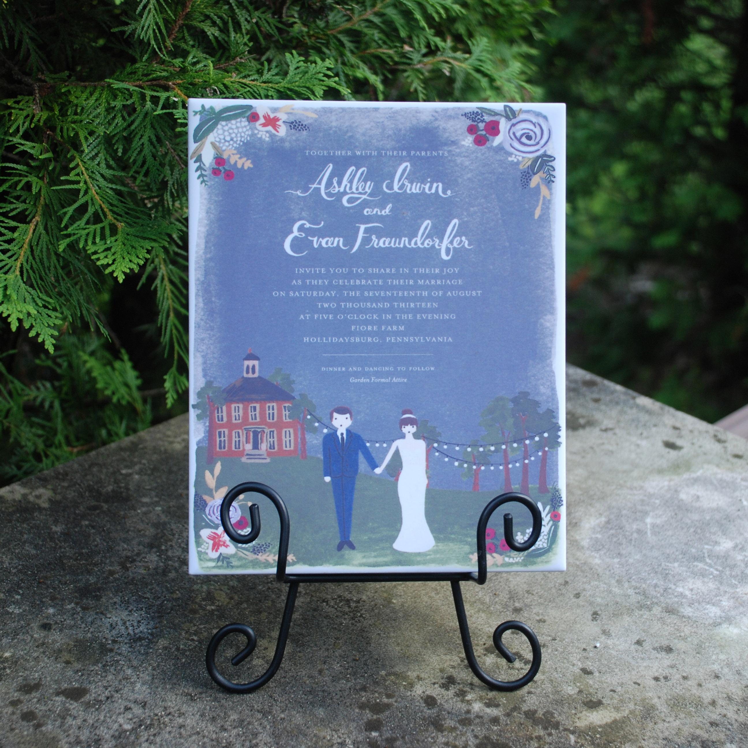 Unique Wedding Gift Idea | Tile By Design