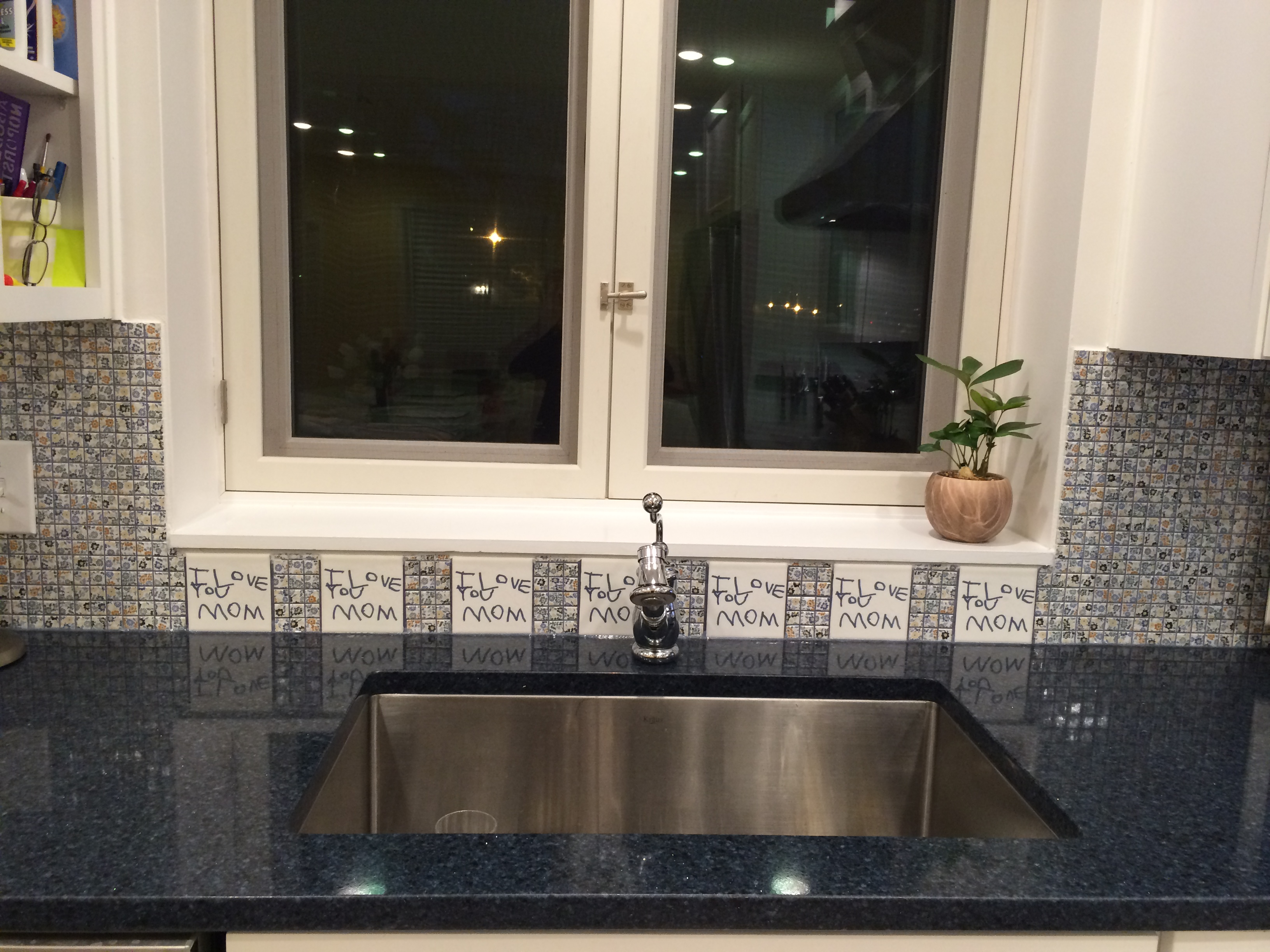 Custom Kitchen Accent Tiles