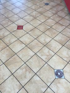 Commercial Tile Mural Accent