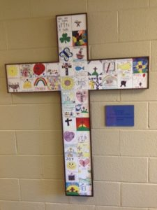 Child's Art Tile Mural