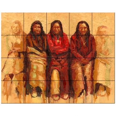 Tile mural categories tile by design for Native american tile designs
