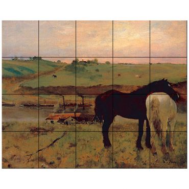 Animals Horses Tile By Design