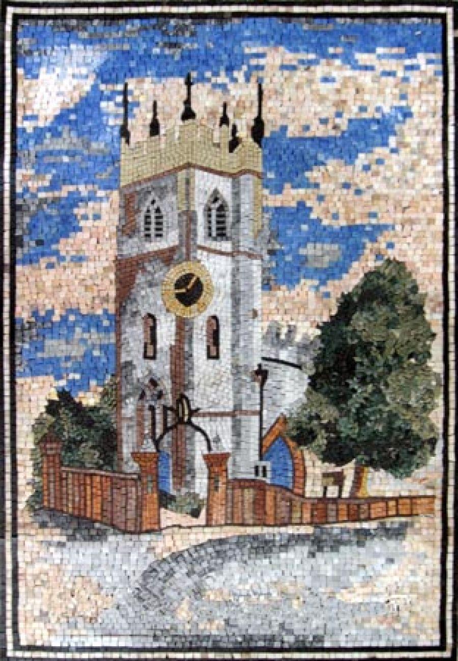 geometrical mosaics - tiledesign